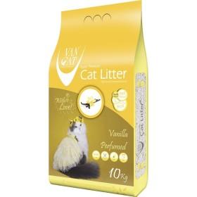 خاک گربه اولتراکلامپینگ با رایحه وانیل حاوی مواد آنتی باکتریال ون کت 5 کیلویی