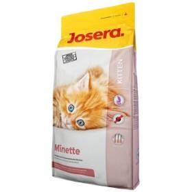 غذای خشک مینته حاوی گوشت مرغ مخصوص بچه گربه و مادر جوسرا