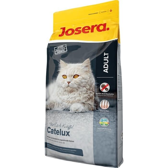 غذاي خشك كتلوكس حاوي گوشت اردك با خواص دفع كنندگي گلوله ھاي مويي مخصوص گربه بالغ جوسرا