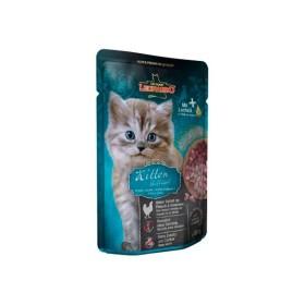 پوچ بچه گربه با طعم مرغ لئوناردو