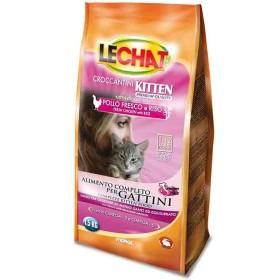 غذای خشک مخصوص بچه گربه و گربه های آبستن و شیروار با طعم مرغ و برنج لچت