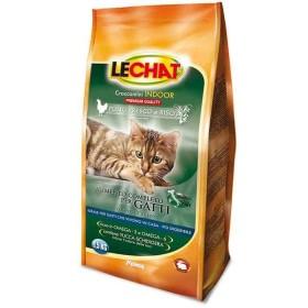 غذای خشک مخصوص گربه های بالغ داخل خانه با طعم مرغ و برنج لچت