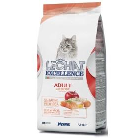 غذای خشک مخصوص گربه بالغ حاوی ماهی سالمون سیب تخم مرغ و برنج لچت اکسلنس - ۱/۵ کیلوگرم