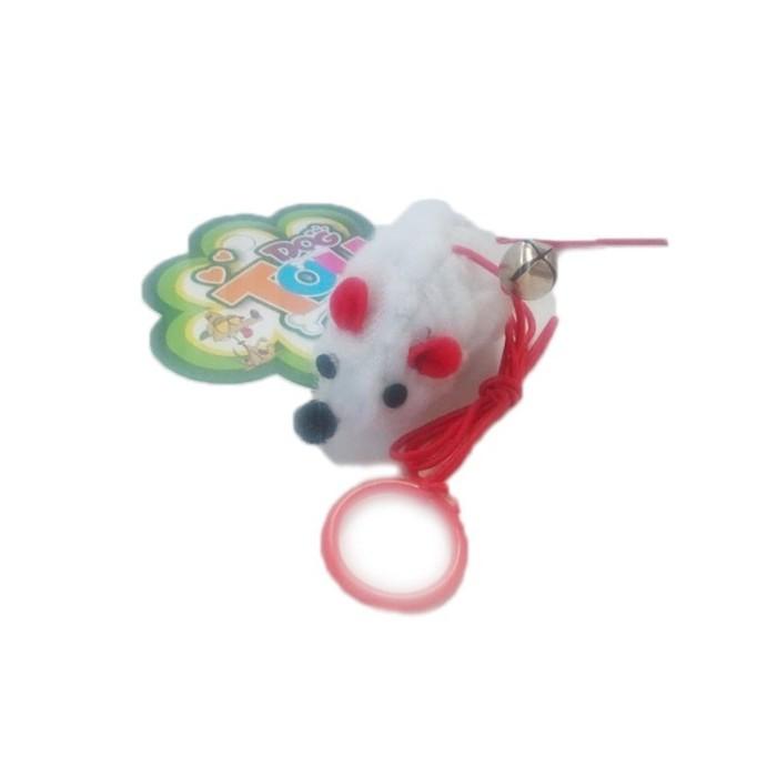 اسباب بازی موش پنبه ای دم زنگوله ایCT1502