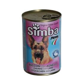 کنسرو چانک با طعم بیف مخصوص سگ سیمبا