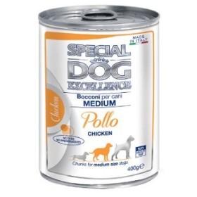کنسرو چانک با طعم مرغ برای سگ های متوسط اسپشل اکسلنس