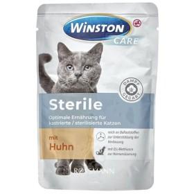 پوچ مخصوص گربه های عقیم شده با طعم جوجه وینستون