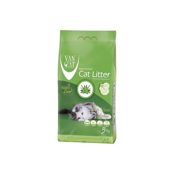 خاک گربه اولتراکلامپینگ با رایحه آلوئه ورا حاوی مواد آنتی باکتریال ون کت 10 کیلویی