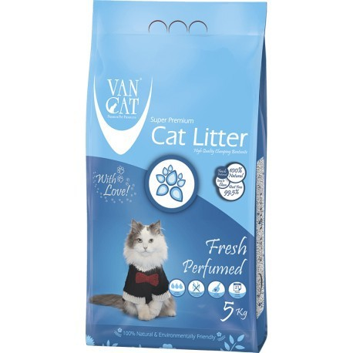 خاک گربه اولتراکلامپینگ با رایحه طبیعت ون کت 10 کیلویی