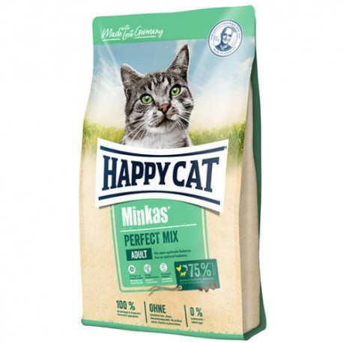 غذای خشک گربه هپی کت minmix02  و 4 کیلویی