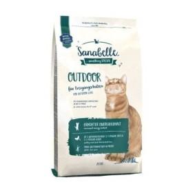 غذای خشک مخصوص گربه بالغ خارج از خانه سانابل 2 کیلویی