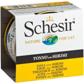 کنسرو تن و ماهی سوریمی مخصوص گربه شسیر
