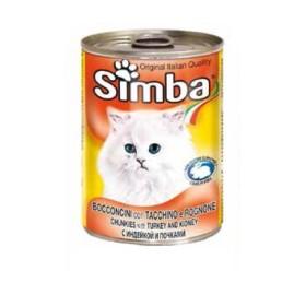 کنسرو چانک با طعم بوقلمون و قلوه سیمبا - 415 گرم