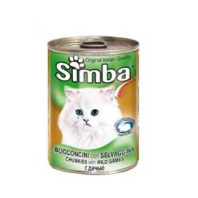 کنسرو چانک با طعم بیف سیمبا