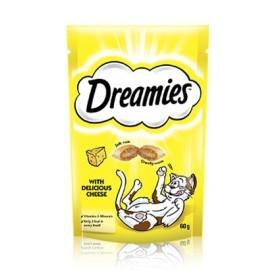 تشویقی تکه ای گربه با طعم پنیر دریمز