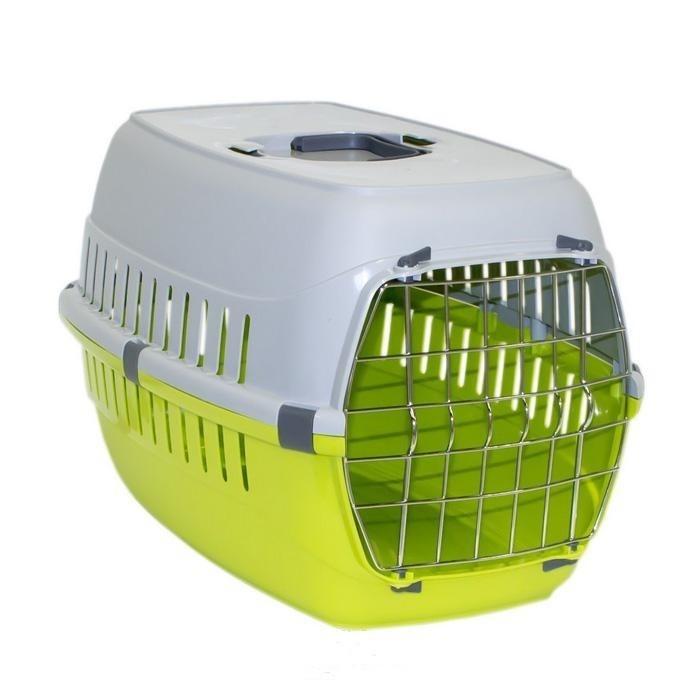 باکس حمل حیوانات با درب پلاستیکی کوچک