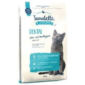 غذای خشک مخصوص گربه بالغ برای حفظ بهداشت دهان و دندان سانابل