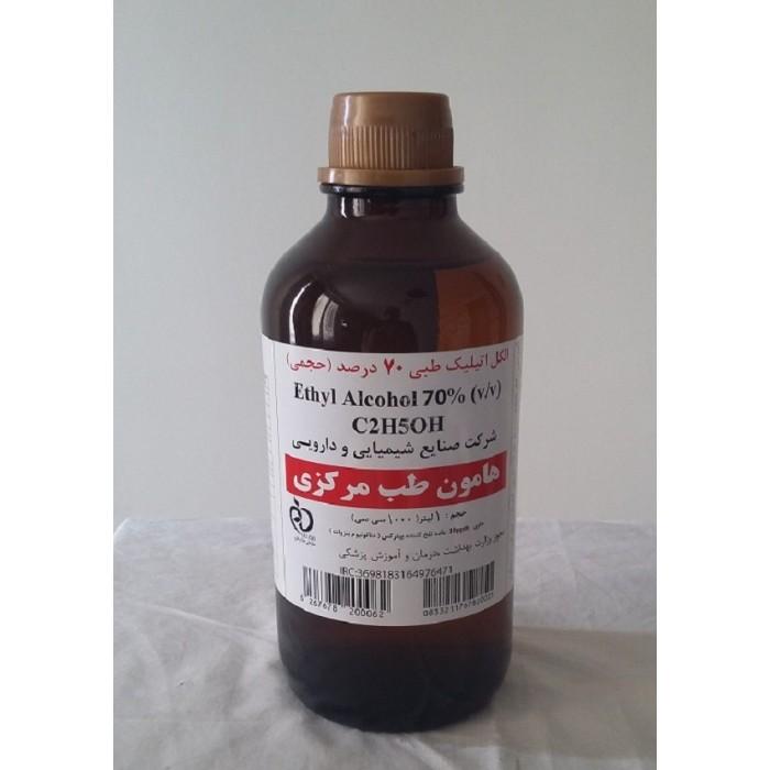 ضد عفونی کننده دست محلول الکل اتانول 70 درصد - 1000 میلی لیتر