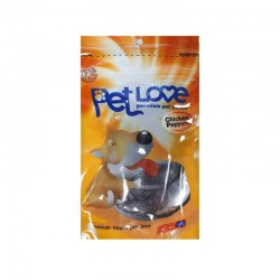 تشویقی با طعم مرغ مخصوص سگ پت لاو