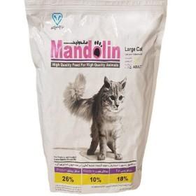 غذا خشک گربه بالغ باطعم مرغ ماندولین - ٢.٥ كيلوگرم