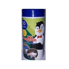 دستمال مرطوب ضدعفونی کننده پنگوئن - 50 برگی