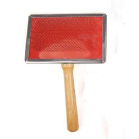 برس سوزنی با دسته چوبی