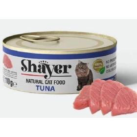 کنسرو گربه نچرال با طعم ماهی تن شایر - 110 گرم