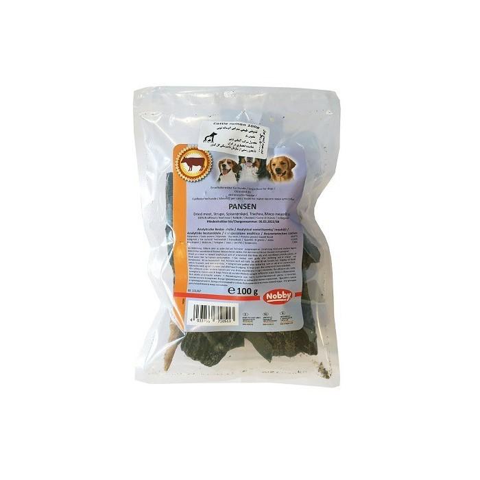تشویقی طبیعی سیرابی گوساله مخصوص سگ نوبی - 100 گرم