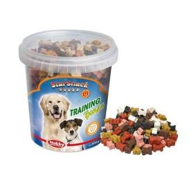 تشویقی سطلی تربیتی سگ با طرح استخوان با طعم انواع گوشت نوبی - 500گرمی
