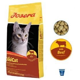 غذاي خشك گربه جوسی کت با طعم بیف جوسرا - 10 کیلوگرم