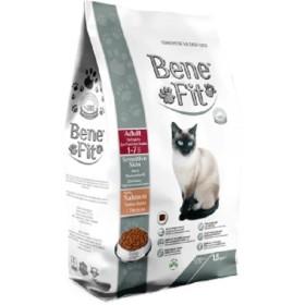 غذا خشک گربه بالغ مخصوص پوست و مو بنفیت - 1.5 كيلوگرم
