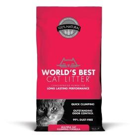 خاک گربه با رایحه پودر بچه ورلدزبست - 10 کیلوگرم