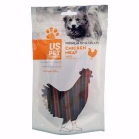 تشویقی سگ مدل دنتال با طعم مرغ یو اس پت - 100 گرم