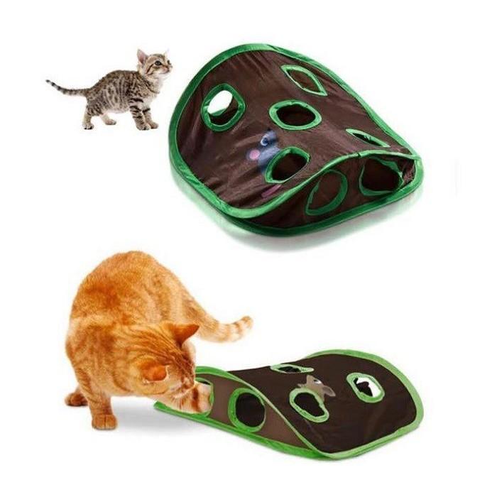 اسباب بازی پارچه ای گربه