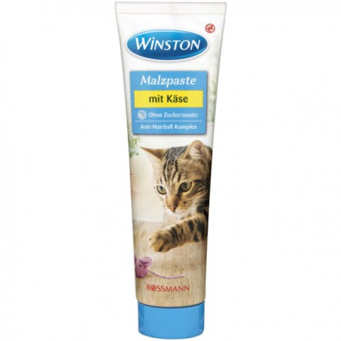 مالت گربه حاوی مولتی ویتامین با طعم پنیر وینستون