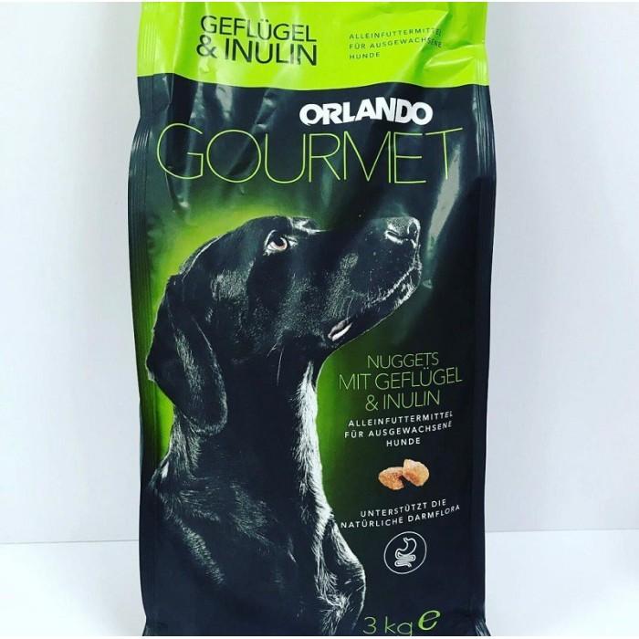 غذا خشک سگ بالغ همه نژادها برند اورلاندو  - 3 كيلوگرم