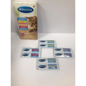 تشویقی سوسیس گربه در 4 طعم وینستون - 2 عددی
