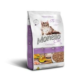 غذا خشک  گربه بالغ عقیم شده با طعم مرغ مونلو  - 1كيلوگرم