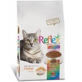 غذای خشک گربه مولتی کالر رفلکس - 1/5کیلوگرم