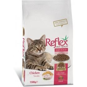 غذای خشک گربه با طعم مرغ رفلکس - 1/5کیلوگرم