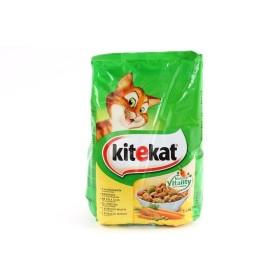 غذای خشک گربه بالغ کیت کت با طعم مرغ - 1/8 کیلوگرم