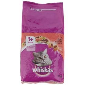 غذا خشک گربه بالغ با طعم بیف ویسکاس - 1.4 کیلوگرم