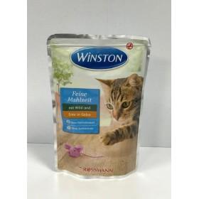 پوچ مخصوص گربه با طعم گوشت شکار و اردک در ژله وینستون