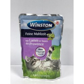 پوچ مخصوص گربه با طعم بره در سس گیاه پروونس وینستون
