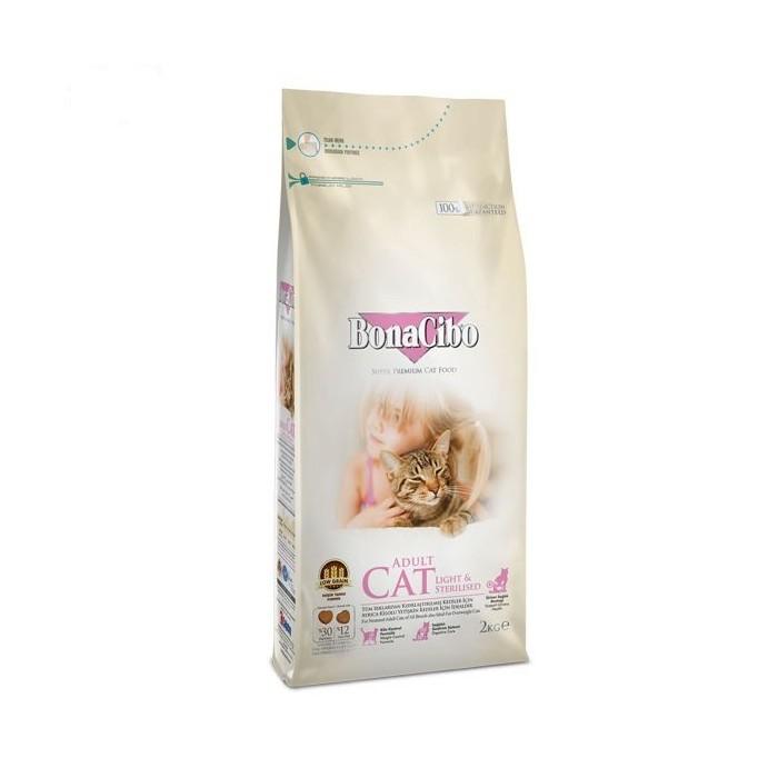 غذا خشک مخصوص گربه بالغ  عقیم یا چاق بوناسیبو - 5 کیلوگرم