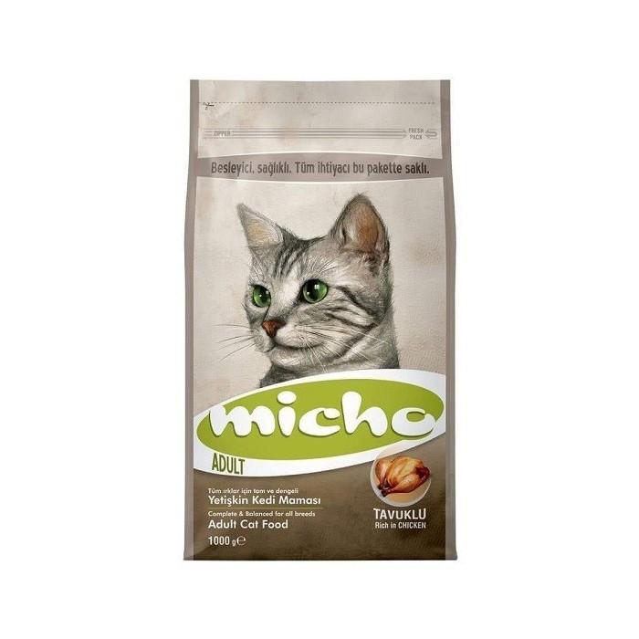 غذا خشک مخصوص گربه با طعم مرغ  میچو - 1 کیلوگرم