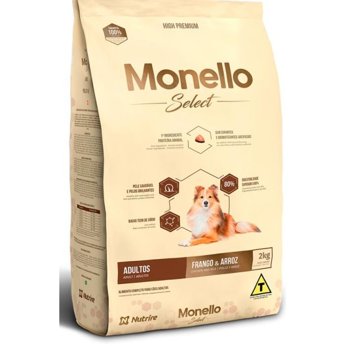 غذا خشک سگ بالغ نژاد بزرگ مونلو سلکت  - ١5 كيلوگرم
