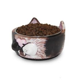 ظرف آب و غذای گربه و سگ