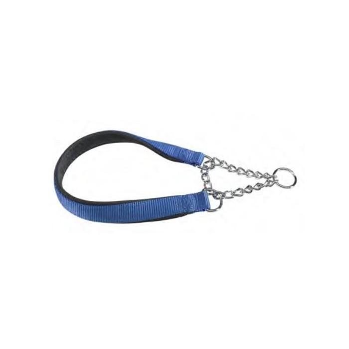 قلاده نایلونی گردنی با زنجیر
