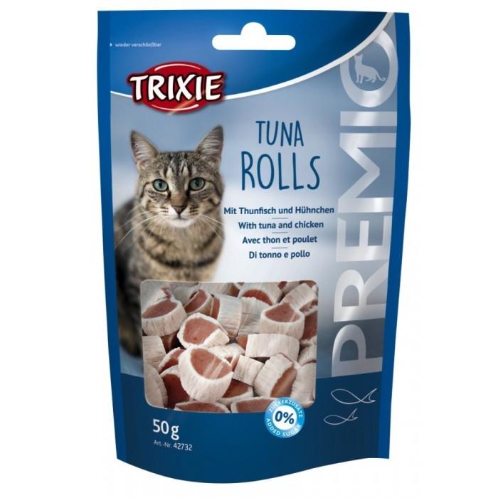 تشویقی ماهی تن مخصوص گربه تریکسی